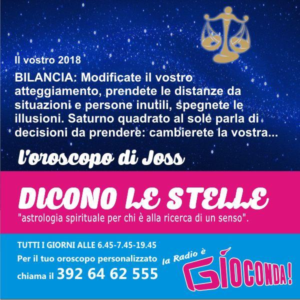 Bilancia - Oroscopo di domenica 31 dicembre