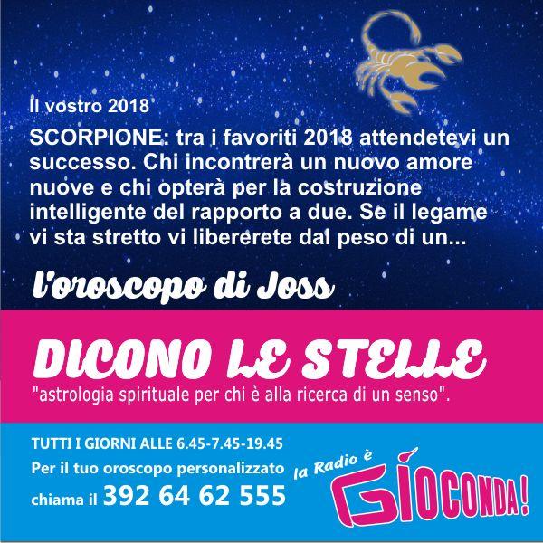 Scorpione - Oroscopo di domenica 31 dicembre