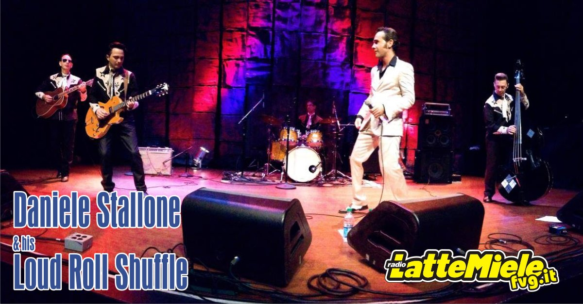 Virtual Village con Daniele Stallone and his Loud Roll Shuffle