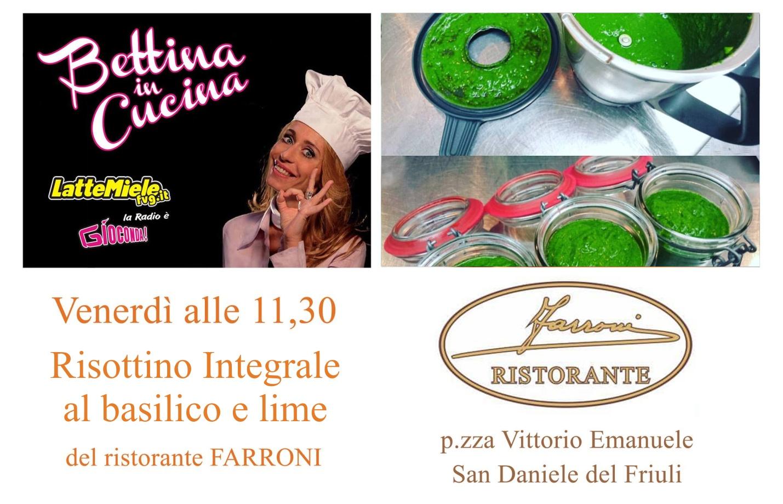 Bettina in Cucina con il Ristorante Farroni