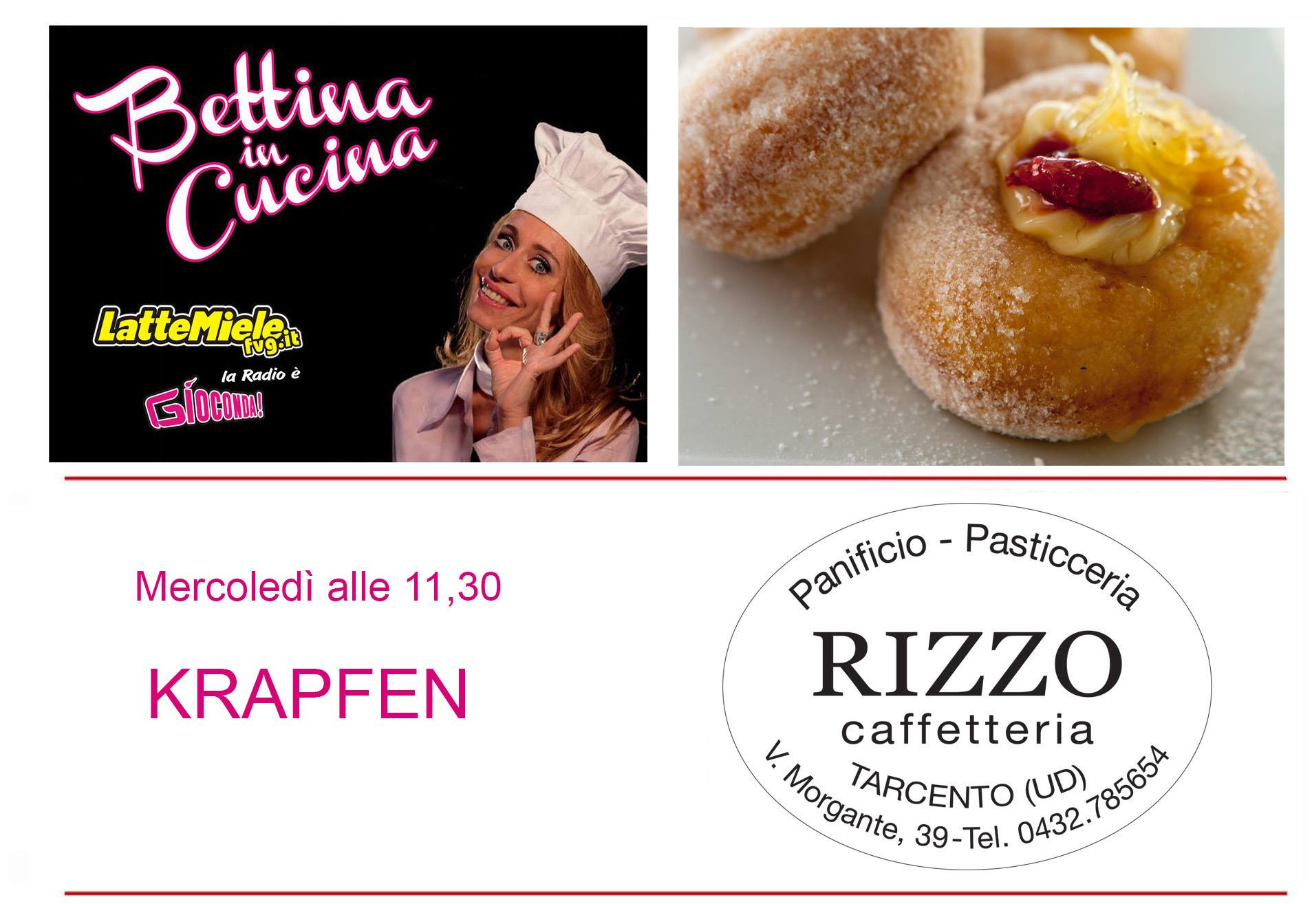 Bettina in Cucina con il Panificio Pasticceria Caffetteria Rizzo