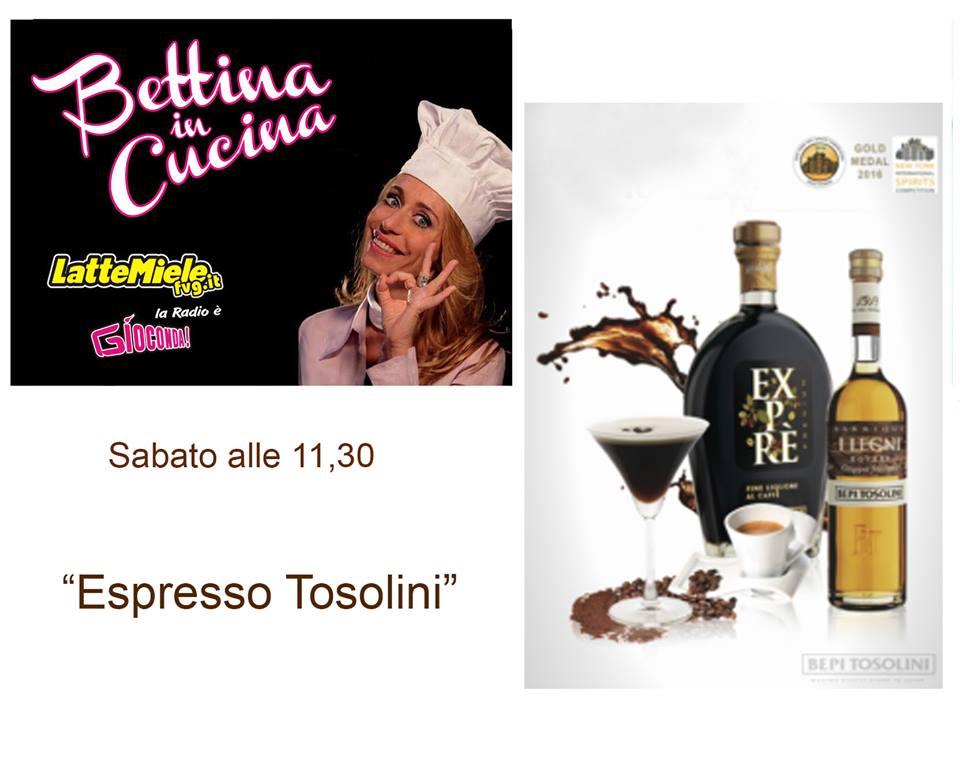 Bettina in Cucina con la Distilleria Bepi Tosolini