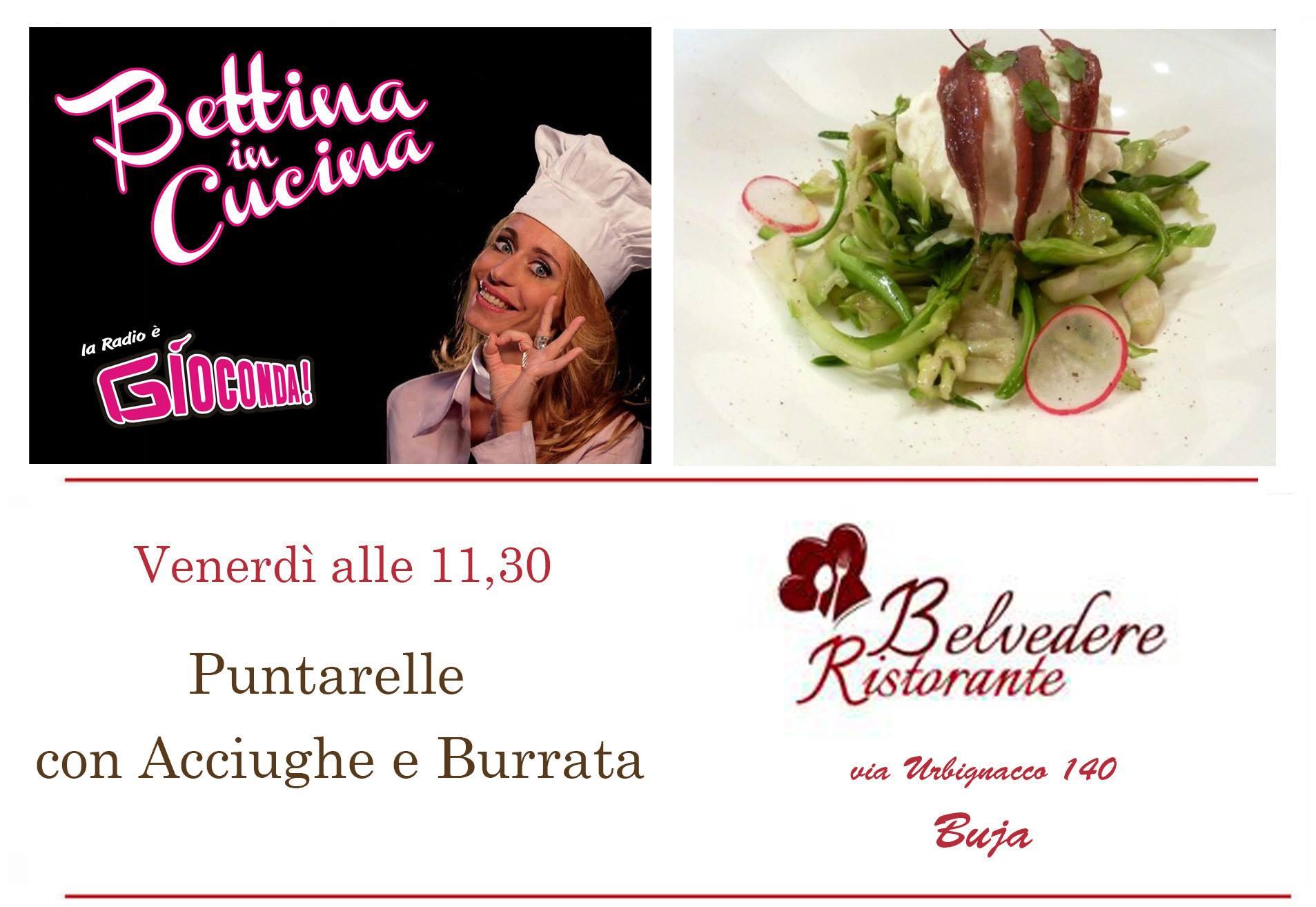 Bettina in Cucina con il Ristorante Pizzeria Belvedere a Buja