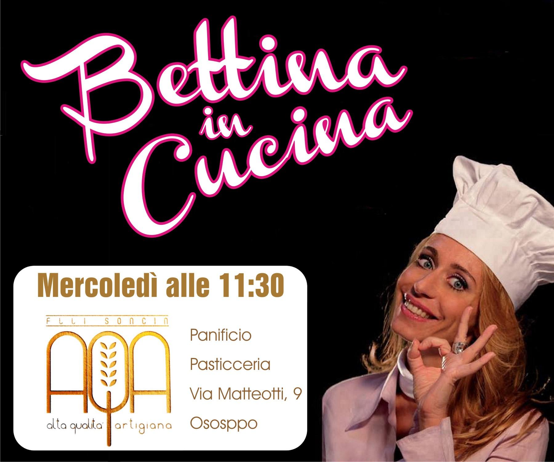 Bettina in Cucina con il Panificio Pasticceria AQA Alta Qualità Artigiana