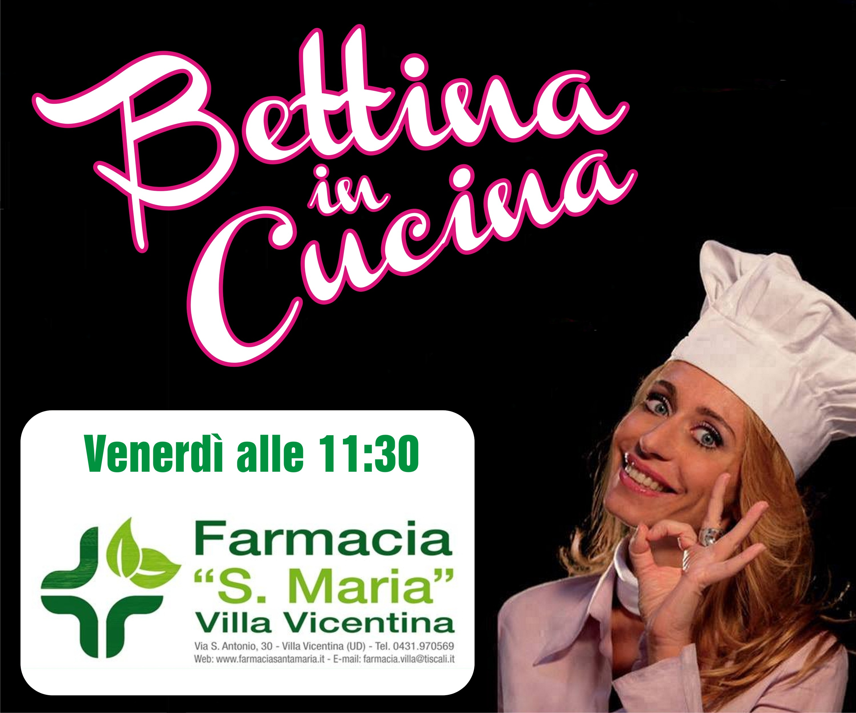 Bettina in Cucina con Farmacia Santa Maria