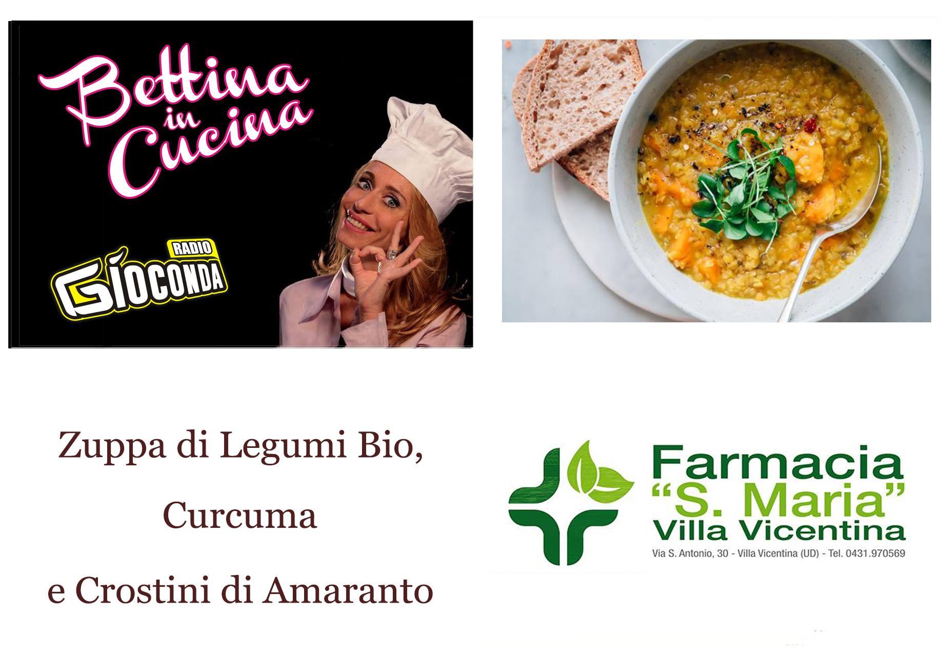 Bettina in Cucina con Farmacia Santa Maria