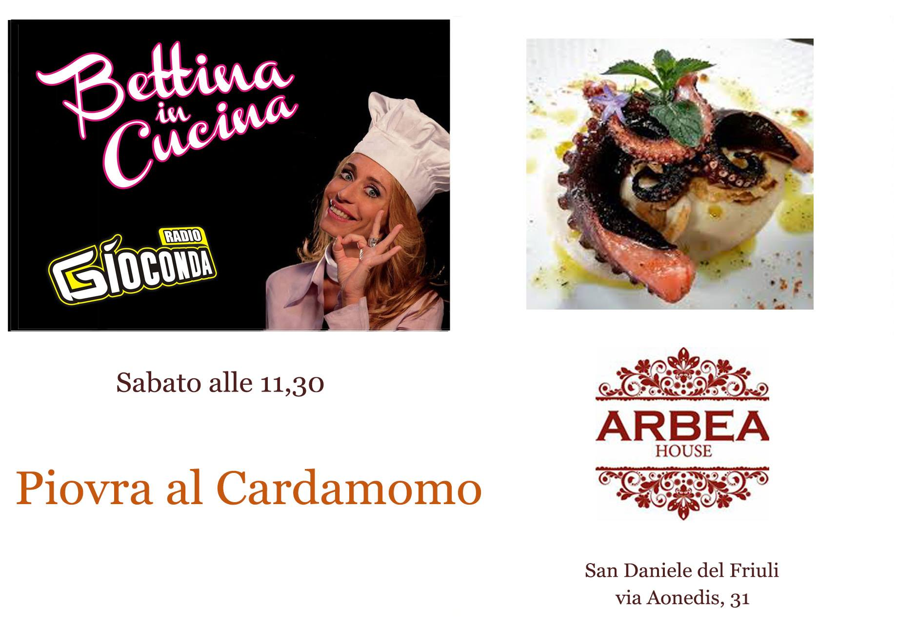 Bettina in Cucina con Arbea House
