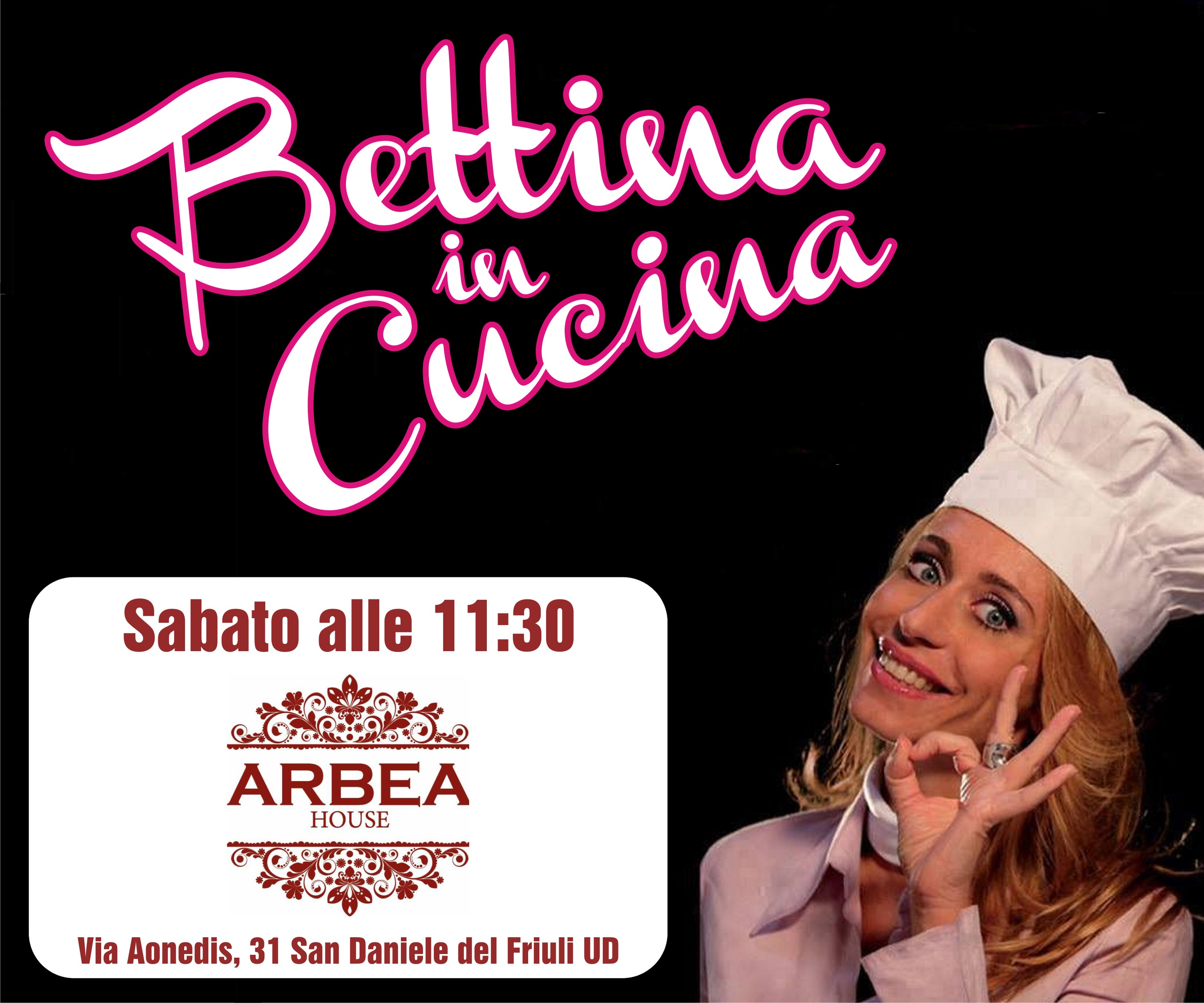 Bettina in Cucina con Arbea House