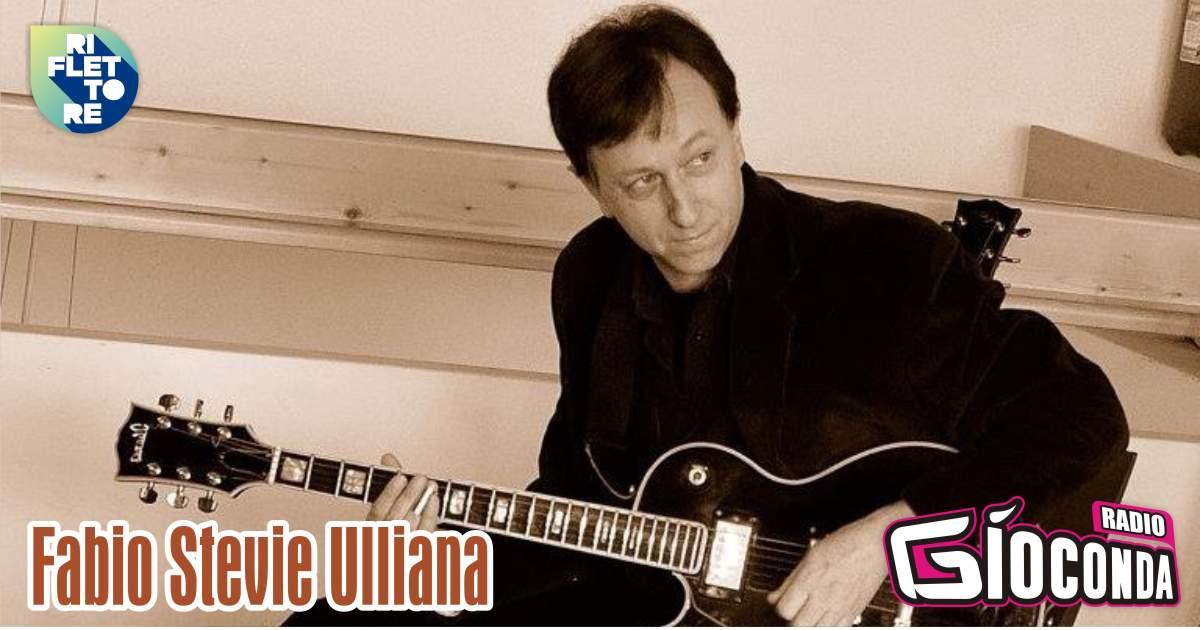 Riflettore con il chitarrista Fabio Stevie Ulliana