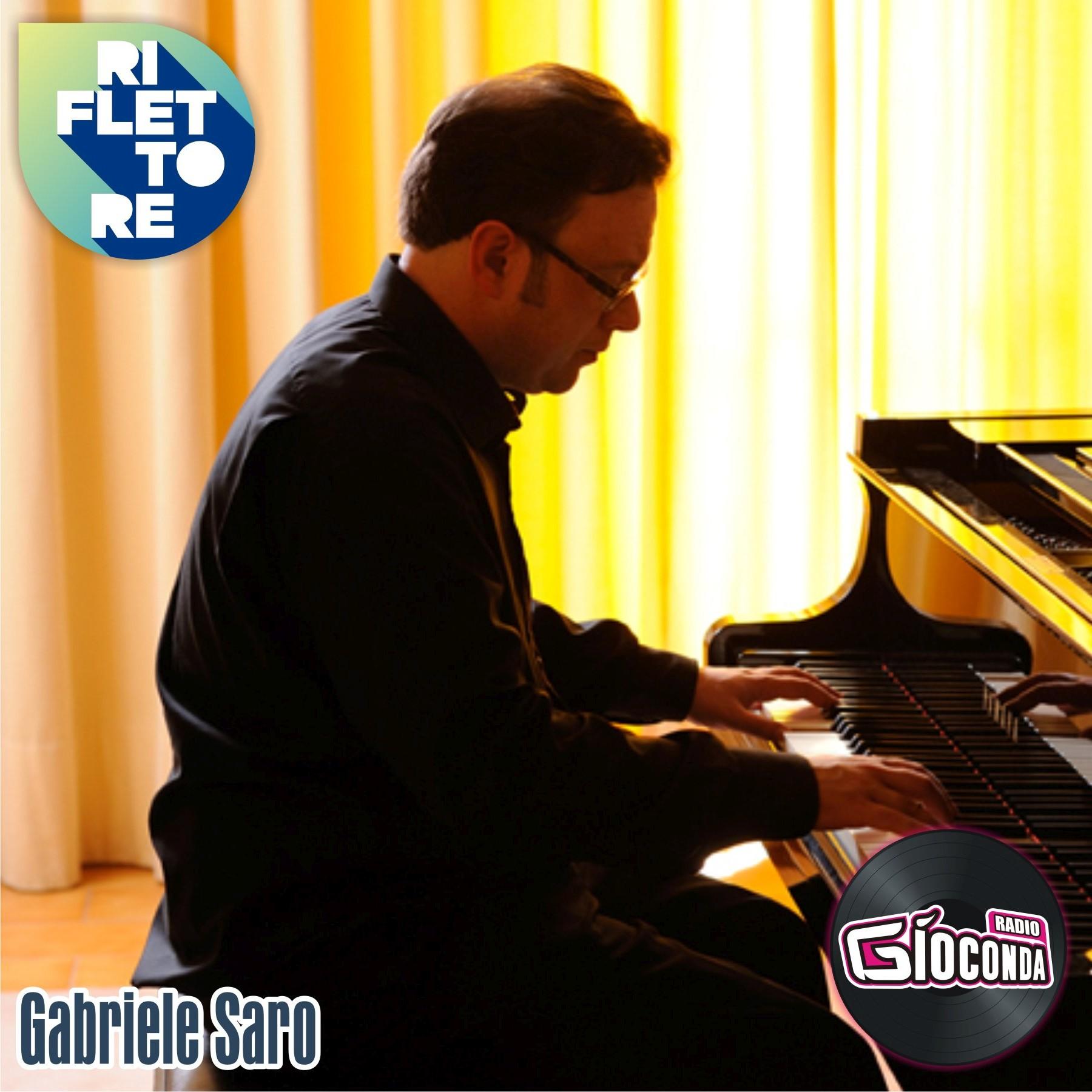 Riflettore con il musicista e compositore Gabriele Saro