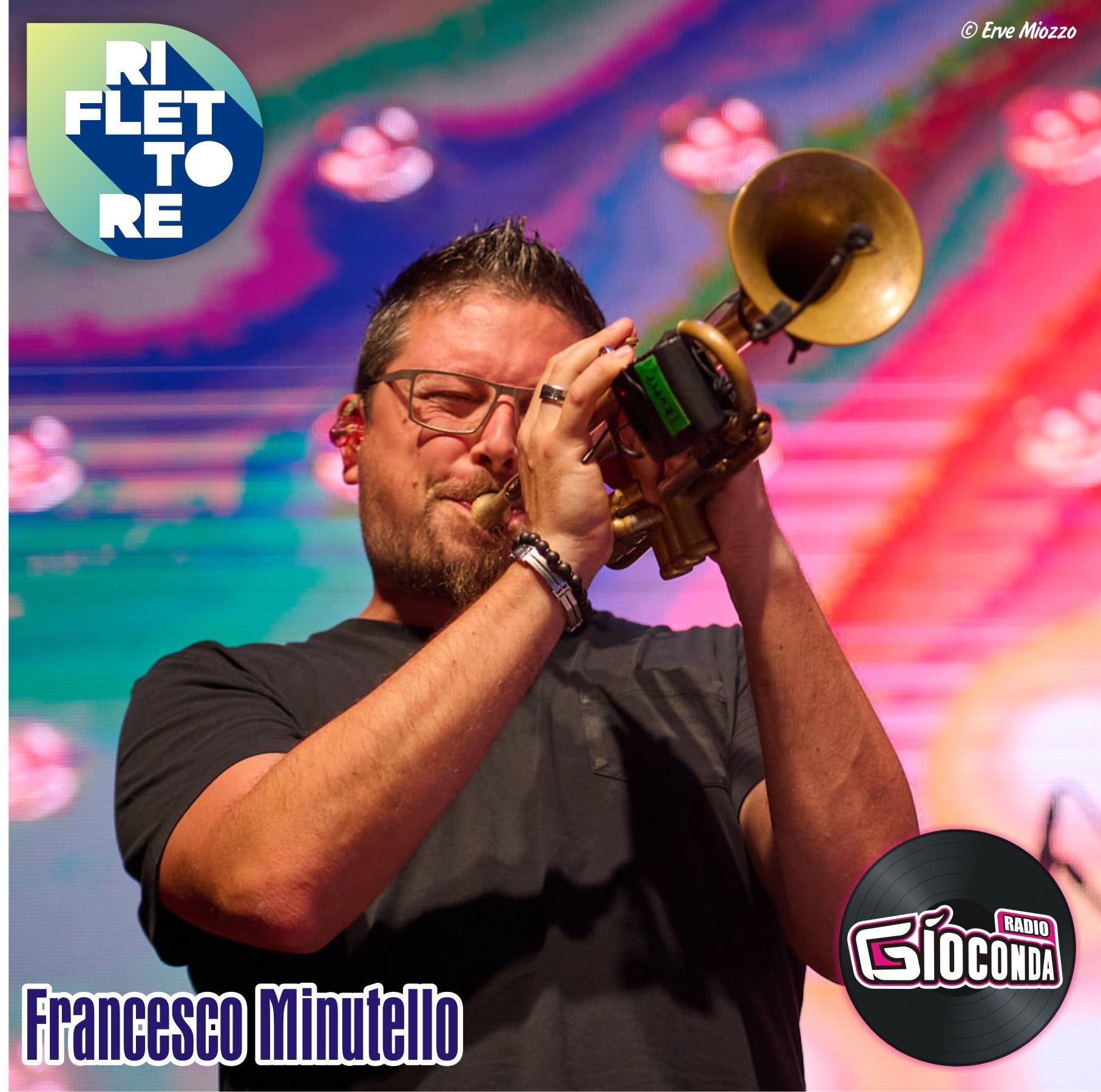 Riflettore con il trombettista Francesco Minutello