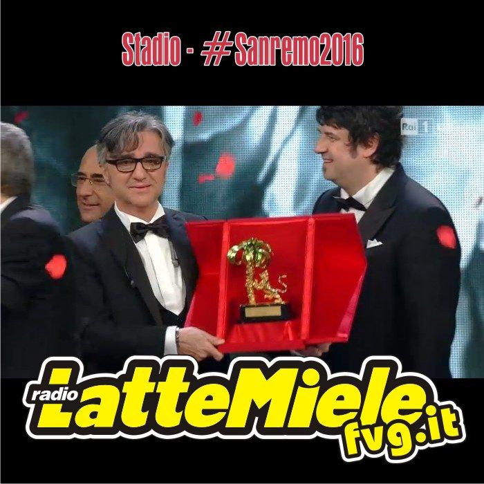 Gli Stadio vincono la 66esima edizione del Festival di Sanremo